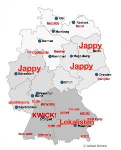 die 2. Liga der Social Networks in Deutschland